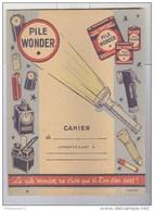 Protège Cahier Pile Wonder - Très Bon état - Batterie
