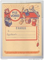 Protège Cahier Pile Wonder - Très Bon état - Piles