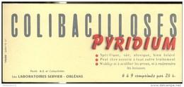 Buvard Pyridium - Laboratoire  Servier - Très Bon état - Produits Pharmaceutiques