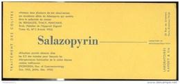 Buvard Salazopyrin - Laboratoire Kamsky - Très Bon état - Produits Pharmaceutiques