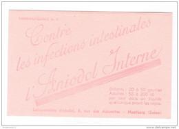 Buvard Aniodol Interne - Laboratoire Aniodol Nanterre - Très Bon état - Produits Pharmaceutiques