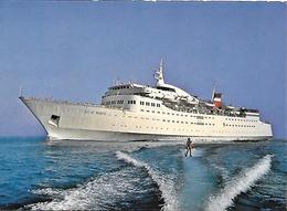 CPA-1970-FERRIES-PAQUEBOT-LIAISON - CORSE-ILE De BEAUTE-TBE - Ferries