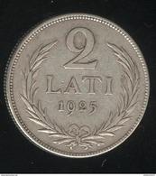 2 Lati Lettonie 1925 TTB - Lettonie