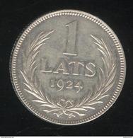 1 Lats Lettonie 1924 TTB - Lettonie