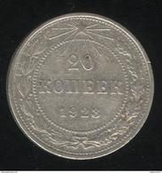 20 Kopecks Russie 1923 TB - Russie