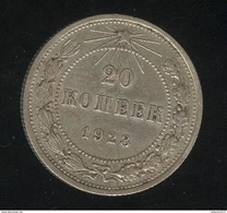 20 Kopecks Russie 1923 TTB - Russie