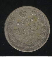 20 Kopecks Russie 1909 TTB - Russland