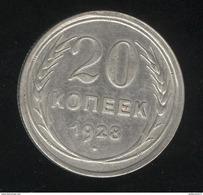 20 Kopecks Russie 1928 TTB+ - Rusia