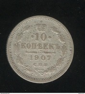 10 Kopecks Russie 1907 TTB - Rusland