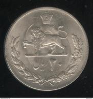 20 Rials Iran 1976 - Muhammad Reza Pahlavi - TTB - Bolivia