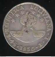 4 Soles Bolivie 1830 - Bolivia