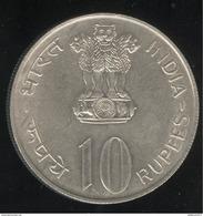 10 Roupies Inde 1972 TTB+ - Inde