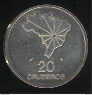 20 Cruzeiros Brésil / Brasil 1972 Proof - Brésil