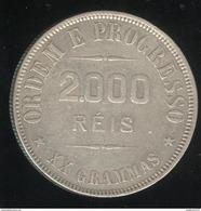 2000 Réis Brésil / Brasil 1911 - Brésil