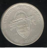 5 Pengo Hongrie 1938 - Hongrie