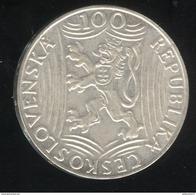 100 Korun Tchequoslovaquie 1949 - Tchécoslovaquie