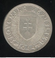 10 Korun Slovaquie 1944 TTB - Slovaquie