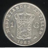 1 Gulden Antilles Néerlandaises / Nederland Antillen 1952 TTB+ - Antille Olandesi