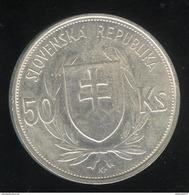 50 Korun Slovaquie 1944 TTB+ - Slovakia