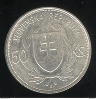 50 Korun Slovaquie 1944 TTB+ - Slovacchia
