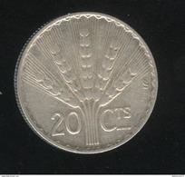 20 Centesimos 1942 Uruguay TTB - Uruguay