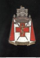 Insigne CISS N°1 - Centre D'Instruction Interarmes Du Service De Santé - Drago - France