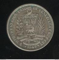 1 Bolivar Venezuela 1945 TTB - Venezuela