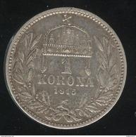 1 Couronne Autriche / Austria 1915 - Argent / Silver - TTB+ - Autriche
