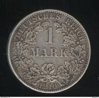1 Mark Allemagne / Germany 1910 A - TTB - [ 2] 1871-1918: Deutsches Kaiserreich