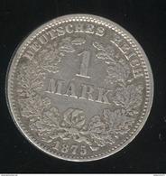 1 Mark Allemagne / Germany 1875 J - TTB - [ 2] 1871-1918: Deutsches Kaiserreich
