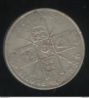 1 Florin Grande Bretagne / United Kingdom 1920 - 1902-1971 : Monnaies Post-Victoriennes
