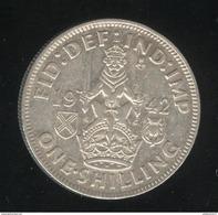 1 Shilling Grande Bretagne / United Kingdom 1942 TTB - 1902-1971 : Monnaies Post-Victoriennes