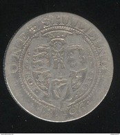 1 Shilling Grande Bretagne / United Kingdom 1896 - 1816-1901 : Frappes XIX° S.