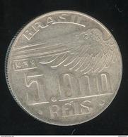 5000 Réis Brésil / Brasil 1938 Santos Dumont TTB - Brésil