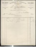 Facure Gaudillière Boulangerie Viennoise - 26 Rue De L'Obélisque - Chalon Sur Saône - 1913 - France