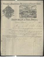Facure Heitchlin & Paul Brill  - Tuileries Et Briqueteries Mécaniques - Chalon Sur Saône - 1898 - France