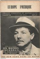 Revue Europe Amérique - Hebdomadaire Belge - N° 135 Janvier 1948 - Livres, BD, Revues