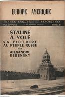 Revue Europe Amérique - Hebdomadaire Belge - N° 100 Mai 1947 - Livres, BD, Revues