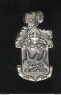 Insigne Camps De Munsingen - Fia Lyon - Métal Embouti - Francia