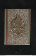 Insigne 2ème REI - 2ème Régiment Etranger D'Infanterie - Andor - Dos Lisse - France