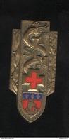 Insigne 1ere Section D'Infirmiers Militaires - SIM Drago Paris 25 Rue Béranger - France