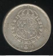 1 Couronne Suède 1946 - Sweden