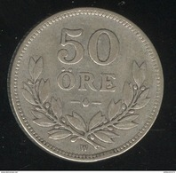 50 Ore Suède 1914 - Sweden