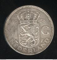 1 Gulden - Pays Bas / Netherland / Nedeland 1958 - Juliana - [ 3] 1815-… : Royaume Des Pays-Bas