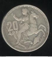 20 Drachmes Grèce 1960 - Paul 1er - Grèce