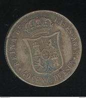 40 Centimes Espagne 1867 - Isabelle II - [ 1] …-1931 : Reino