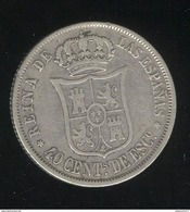 40 Centimes Espagne 1866 - Isabelle II - Collections