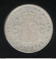 2 Pesetas Espagne 1905 - Alphonse XIII - [ 1] …-1931 : Reino