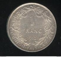 1 Franc Belgique 1913 Albert Roi Des Belges - 1865-1909: Leopold II