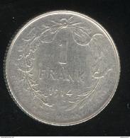 1 Frank Belgique 1914 Albert Koning Der Belgen - 07. 1 Franc